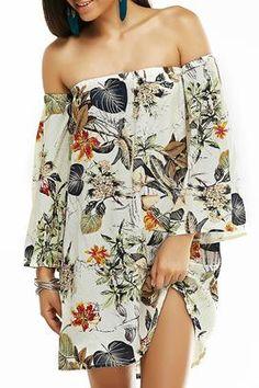 Cupshe Secret Fragrance Of Floral Dress