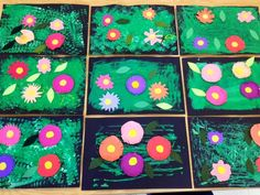 Art with Mr. Giannetto: K and Pre-K Gardens inspired by Andy Warhol