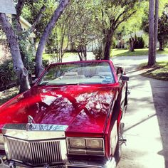 Cadillac Eldorado Convertible #Slab #ElDog #Swangas
