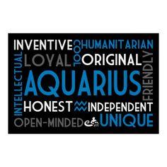 AQUARIUS-Traits to a T