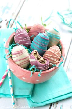 YUMMY Easter Egg Cookie Dough Truffles