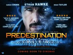 """Predestination - from a story by Robert A. New Yorker likes it: """"a brisk, twisty, and atmospheric science-fiction thriller that piques the imagination and the senses with the low-rent exuberance of fifties drive-in classics. Movies 2014, Go To Movies, Watch Movies, Hollywood Sci Fi Movies, Mind Boggling Movies, Noah Taylor, Sarah Snook, Ethan Hawke, Sci Fi Thriller"""