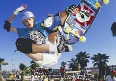 Tony Hawk old school. Owned that deck