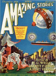 Frank R. Paul, el gran ilustrador de Electrical Experimenter de Hugo Gernsback