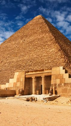 Pyramids of Giza, Egypt    I have always wanted to see this and the Valley of the Kings for myself,