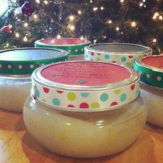 Homemade Christmas Presents: Coconut Citrus Body Scrub