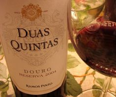 Duas Quintas Reserva 2004 Red Wine, Alcoholic Drinks, Bottle, Glass, Wine Pairings, Beer, Liquor Drinks, Alcoholic Beverages, Drinkware