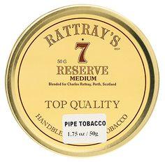 Rattray's No. 7 Reserve 50g Tobaccos at Smoking Pipes .com