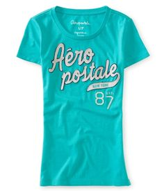 Aero New York 87 Glimmer Graphic T