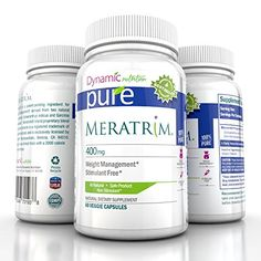 Meratrim Pure Weight Loss Slimming Formula 800mg Daily, Patent Pending Formula Clinically Proven to Lose Weight Starting in 2 Weeks, Stimulant Free - 60 Count - This Offer Is for One Bottle Manufactured in a USA Based GMP Organic Certified Facility- Guaranteed! Pure http://www.amazon.com/dp/B00LAI33Q4/ref=cm_sw_r_pi_dp_8Svaub0TQGEX6