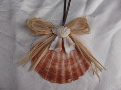 Clam Seashell Christmas Ornament Irish Clam by OutIslandEssentials