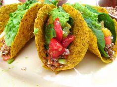 Raw Vegan Taco Shell Recipe #rawvegan #veganrecipes #veganfood #plantbased #lowfat