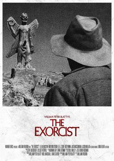 Items similar to The Exorcist - Movie Poster ONE on Etsy Horror Movie Posters, Movie Poster Art, Film Posters, Exorcist Movie, The Exorcist 1973, Best Horror Movies, Scary Movies, Cult Movies, Really Good Movies