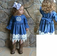 Love this little girls dress!!!!
