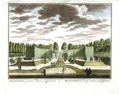 Estate garden print