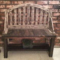 rustic porch bench 2013.76 www.thedoretolawrence.com