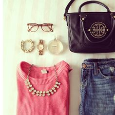 Simple Spring outfit. I have three of the thing in this pic & determined to get the rest :)