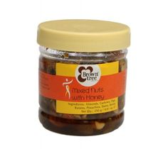 Browntree offer to sell Mixed Nuts With Honey 250g at Rs.175