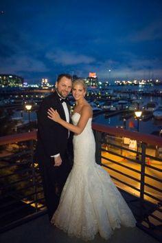 #EnzoaniRealBride Emily in Dakota wedding dress