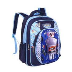 a732427632 3D Cartoon Big Capacity Russia Style Orthopedic School bags For Boys Car  Ultralight Waterproof Backpack Child Kids School bag