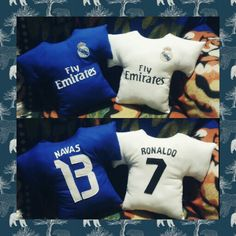 Real madrid pillows Made by me