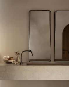 Modern bathroom design 291537775878373461 - Vora Villas in Santorini, Greece by K-Studio Bathroom Taps, Bathroom Fixtures, Remodel Bathroom, Master Bathrooms, Luxury Bathrooms, Marble Bathrooms, Farmhouse Bathrooms, Master Baths, Boho Bathroom
