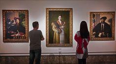 Collezione Farnese-Museo di Capodimonte, Parmigianino,1503-1540.