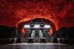 📍 Kungsträdgården metro station - 📸 Rob Bye | Discovered via Mustsee - http://mustsee.earth
