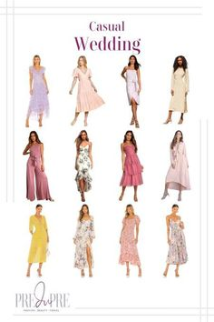 What To Wear To A Wedding, How To Wear, Hot Summer Outfits, Outfit Beach, Warm Weather Outfits, Casual Wedding, Spring Trends, Dress Wedding, Wedding Season