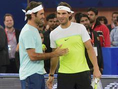 Roger Federer and Rafael Nadal were the top two tennis players for a long time.