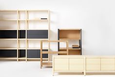 Cavetto Shelving System for-Karl-Andersson & Soner   Yellowtrace