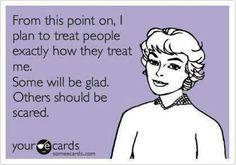 Perfect for that passive aggressive person I know...