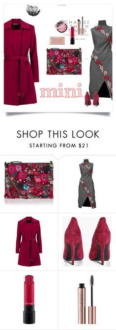 """Sweet Mini Handbags"" by samra-dzabija ❤ liked on Polyvore featuring Accessorize, Alexander McQueen, Diane Von Furstenberg, Boohoo, MAC Cosmetics, Tory Burch and Minime"