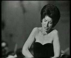 Maria Callas princess  of  Éboli,   Aria O don fatale IV  Act III  Scene Don Carlo Opera By Giuseppe Verdi From 16th March 1962 Hamburg