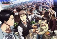 Attack on Titan art that is weird and official