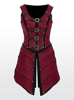 Lady Leather Armor red