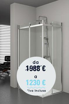 Voglia di rinnovare il tuo #bagno? Approfitta della promozione Water Passion ma affrettati, hai tempo fino al 31 agosto! #promo #benessere #design #bathroom