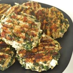 **I made these and they're good!  Draining the spinach is the hardest part!  We even cooked them in the toaster oven, turned out great.  Used an herb feta.