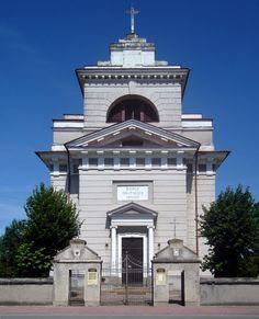 Petrykozy, kościół św. Doroty projektowany przez Jana Chrystiana Kamsetzera