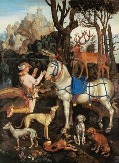 Albrecht Dürer - St.Hubert