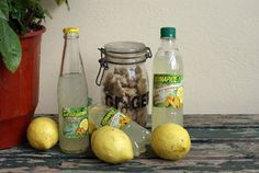 """the """"tsitsibira"""" is a traditional drink, a ginger beer made from soda with lemon, ginger and raisin syrup."""