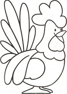 Farm Animal Coloring Pages For Preschool - http://designkids.info/farm-animal-coloring-pages-for-preschool.html #designkids #coloringpages #kidsdesign #kids #design #coloring #page #room #kidsroom