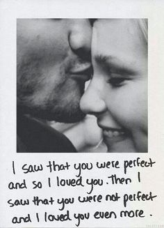 True love... Frame this quote with our picture...wedding gift?