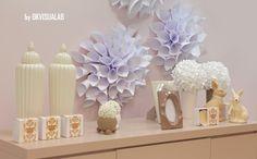 Decorazione per vetrine - Fiori di carta - Dalia di GKvisualab su DaWanda.com