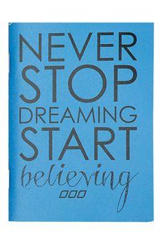 #LJWishList Never Stop Notebook | Stocking Fillers