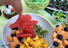 Dinos pastèque pour une Sweet Table Dinosaures par Lady Nanny, Pops & Kids