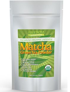 Pure Japanese Matcha Green Tea Powder  USDA Organic Unsweetened Culinary grade  Sweet Flavour Ideal for Vegan Baking  Skinny Latte Smoothie or Protein Shake  Bulk 36oz 100g * This is an Amazon Associate's Pin. For more information, visit this Amazon Affiliate link.