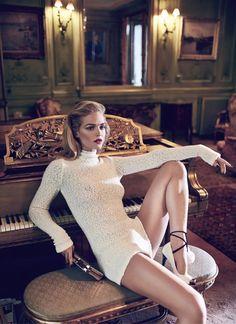Erin Heatherton By Koray Birand For Elle Russia November2013