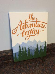adventure nursery mountain nursery nursery by JessieAnnCreations