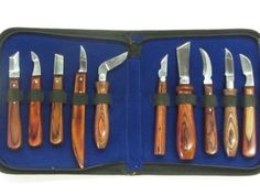 10 Wood Carving Tools